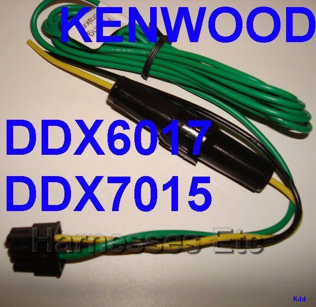 Enjoyable Kenwood 8 Pin Power Wire Harness Plug Ddx6017 Ddx7015 Wiring 101 Cranwise Assnl