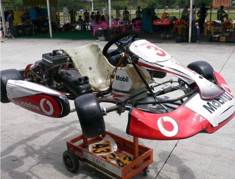 2012 McLaren F1 MP4 27 Sticker Decal Vinyl Kart Birel CRG Tony Kart KG