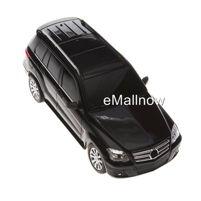 RC Model 1 24 Scale Mercedes Benz GLK Remote Control Alloy Car Black