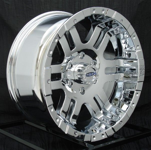 17 inch Chrome Wheels Rims Chevy GMC Truck 1500 6 Lug
