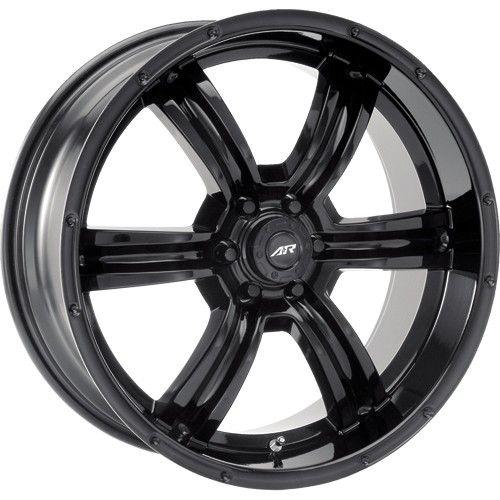 20 inch All Black Wheels Rims Chevy Truck Tahoe Silverado GMC Sierra