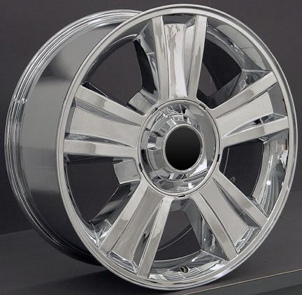 20 Chrome Tahoe Wheels Goodyear LS2 Tires Rims Fit GMC Chevrolet