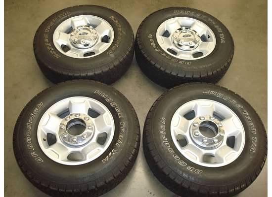 17 Ford F 250 WHEELS Rims TIRES OEM Factory F250 4x4 Superduty 04 12