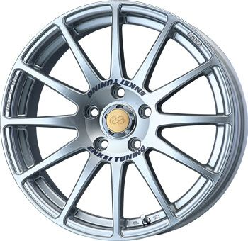 15 Enkei SC03 Silver Rims Wheels 15x6 5 38 4x100 Civic Integra Fit CRX