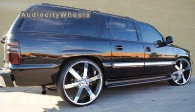 30 Wheels Rims Escalade Chevy Ford QX56 H3 Silverado Yukon Tahoe