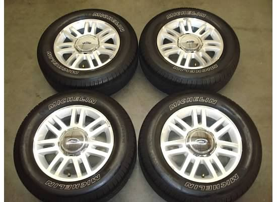 18 Ford F 150 Wheels Rims Tires Factory F150 Lariat 4x4 Expedition 10