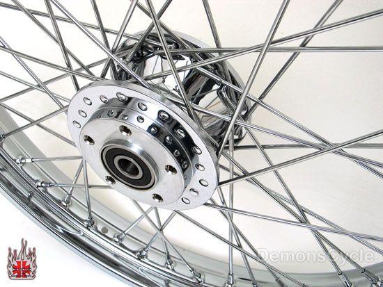 21 Chrome Front Wheel Spokes Rim Fits Harley Sportster