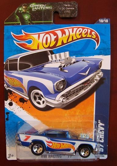 1957 Chevy Hot Wheels Diecast Car New in Package