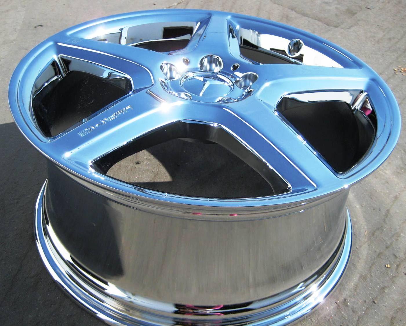 19 New Factory Mercedes R500 ML550 ML55 AMG Chrome Wheels Rims