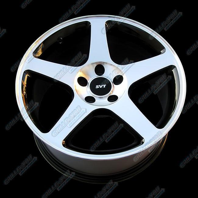 18x9 Mustang Style Replica Machined Wheel Rim 1pc New