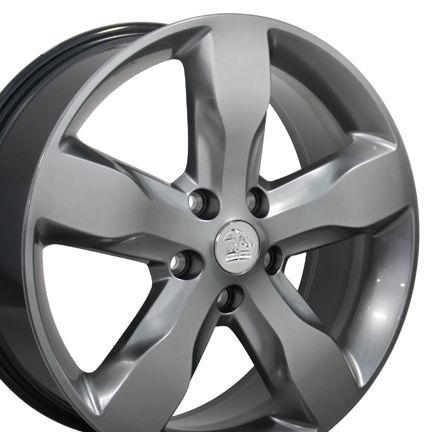 Grand Cherokee Hyper Silver Overland Wheels Set of 4 9107 Rims