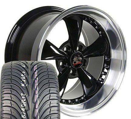 Bullitt Wheels Nexen Tires Bullet Rims Fit Mustang® GT 94 04