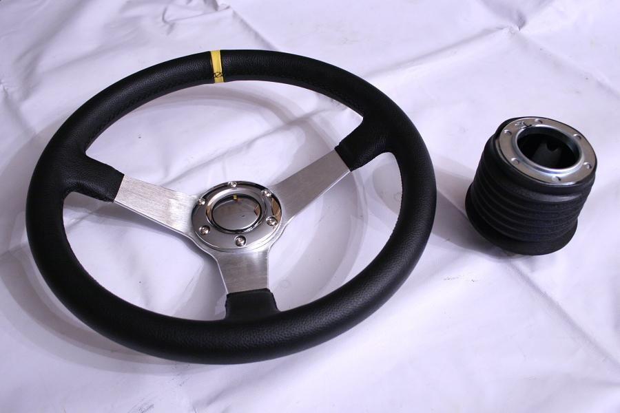 MK1 S6 Steering Wheel Hub Adapter Pontiac Fiero SE GT