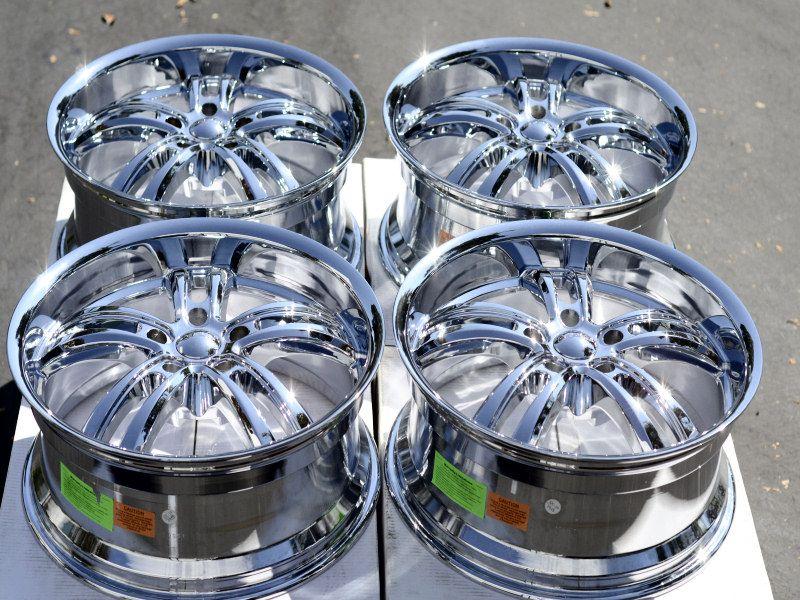 20 Chrome Wheels Rims Caprice Impala SS C 1500 Suburban Tahoe