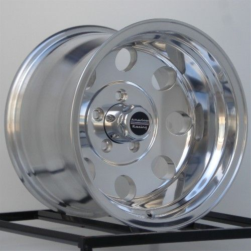 15 inch Wheels Rims Chevy GMC Truck 1 2 Ton 5 Lug 5x5 American Racing