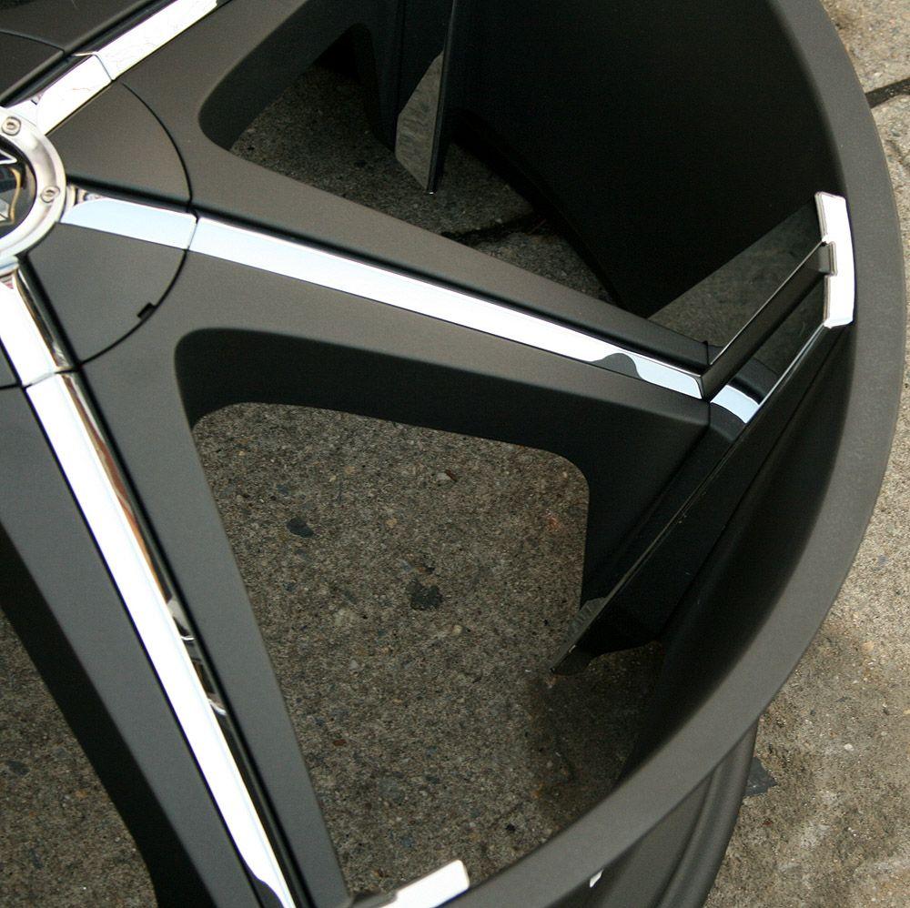 Dub Shooz S147 28 Black Rims Wheels Caprice 5x5 28 x 10 5H 10