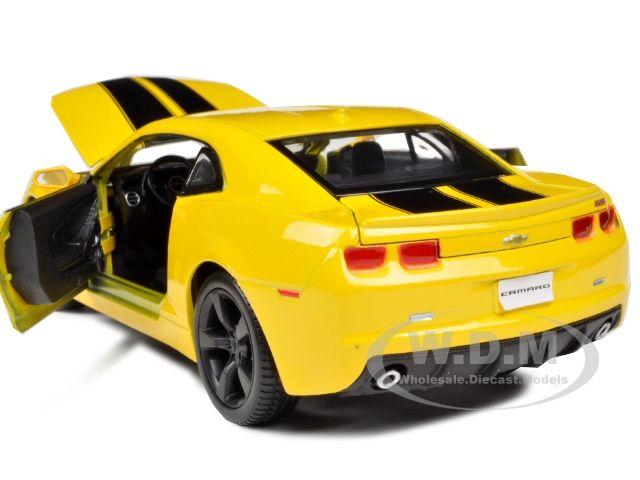 Chevrolet Camaro Rs Ss 1 24 Yellow W Black Wheels Model