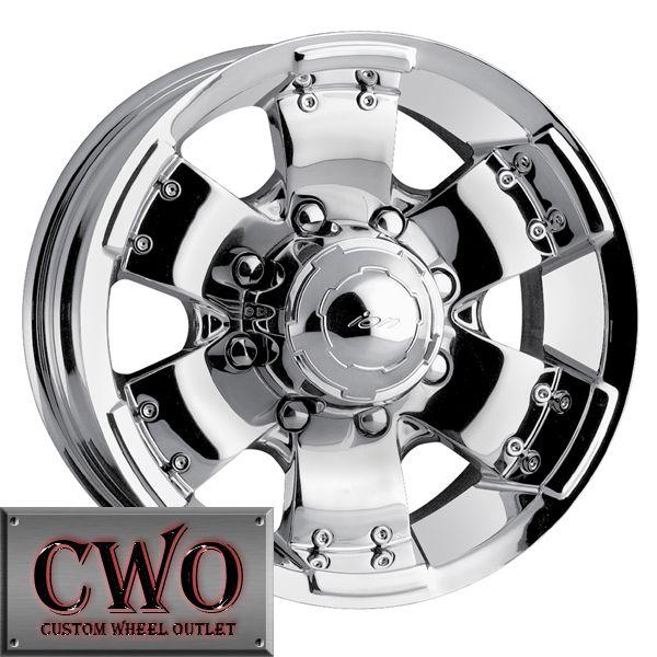 16 Chrome ion 148 Wheels Rims 6x139 7 6 Lug Chevy GMC 1500 Tundra