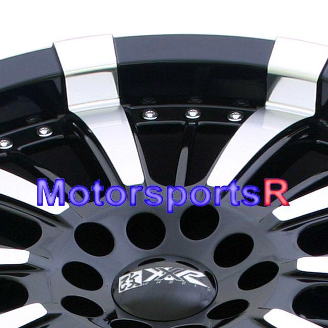 18 XXR 510N Black Rims Wheels 07 08 09 Mazda 6 929 MX6