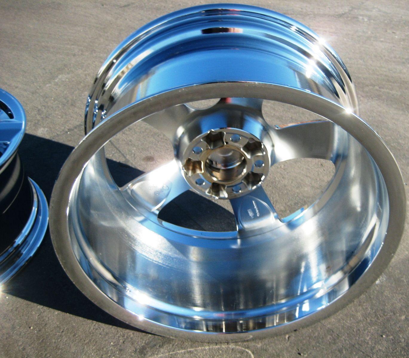 18 Factory Mercedes CLS550 Ronal Chrome Wheels Rims Set of 4