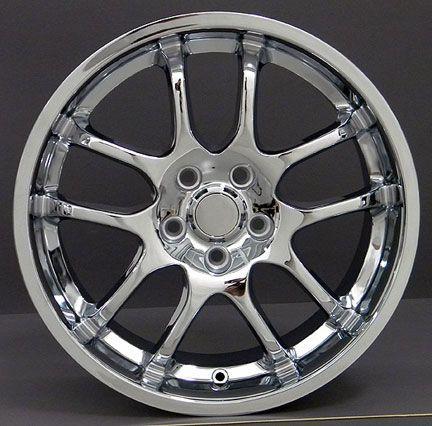18 Rim Fits Infinti G35 Chrome Spoke Wheel 18 x 9