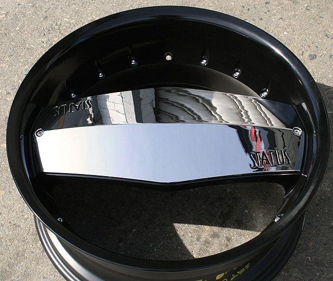 Status Grinder 815 24 Black Rims Wheels Dodge Dakota Durango 24 x 9 0