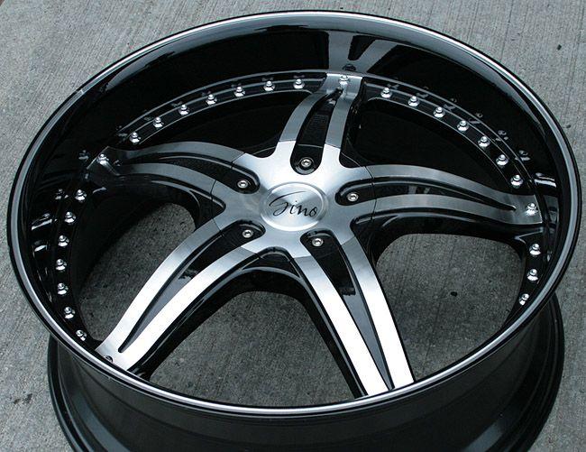 RVM 497 22 Black Rims Wheels Impala Malibu Grand Prix