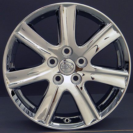 17 Chrome ES350 Wheels Set of 4 Rims Fit Lexus LS Is GS RS