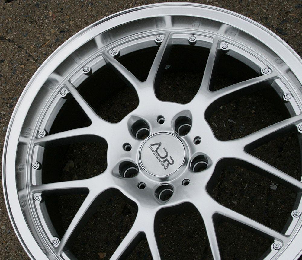 Adr M Sport 19 H Silver Rims Wheels Chevrolet Camaro LS Lt RS 09 Up
