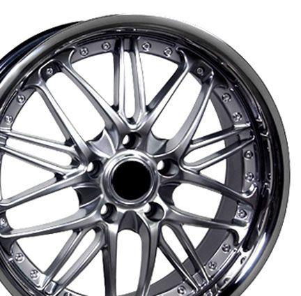 18 Rim Fits BMW 3 Hyper Black Wheel 18 x 8
