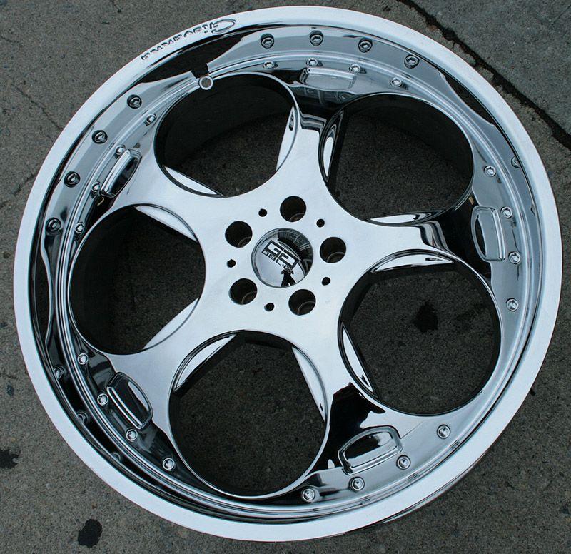 Giovanna Brake 22 Chrome Rims Wheels Benz S320