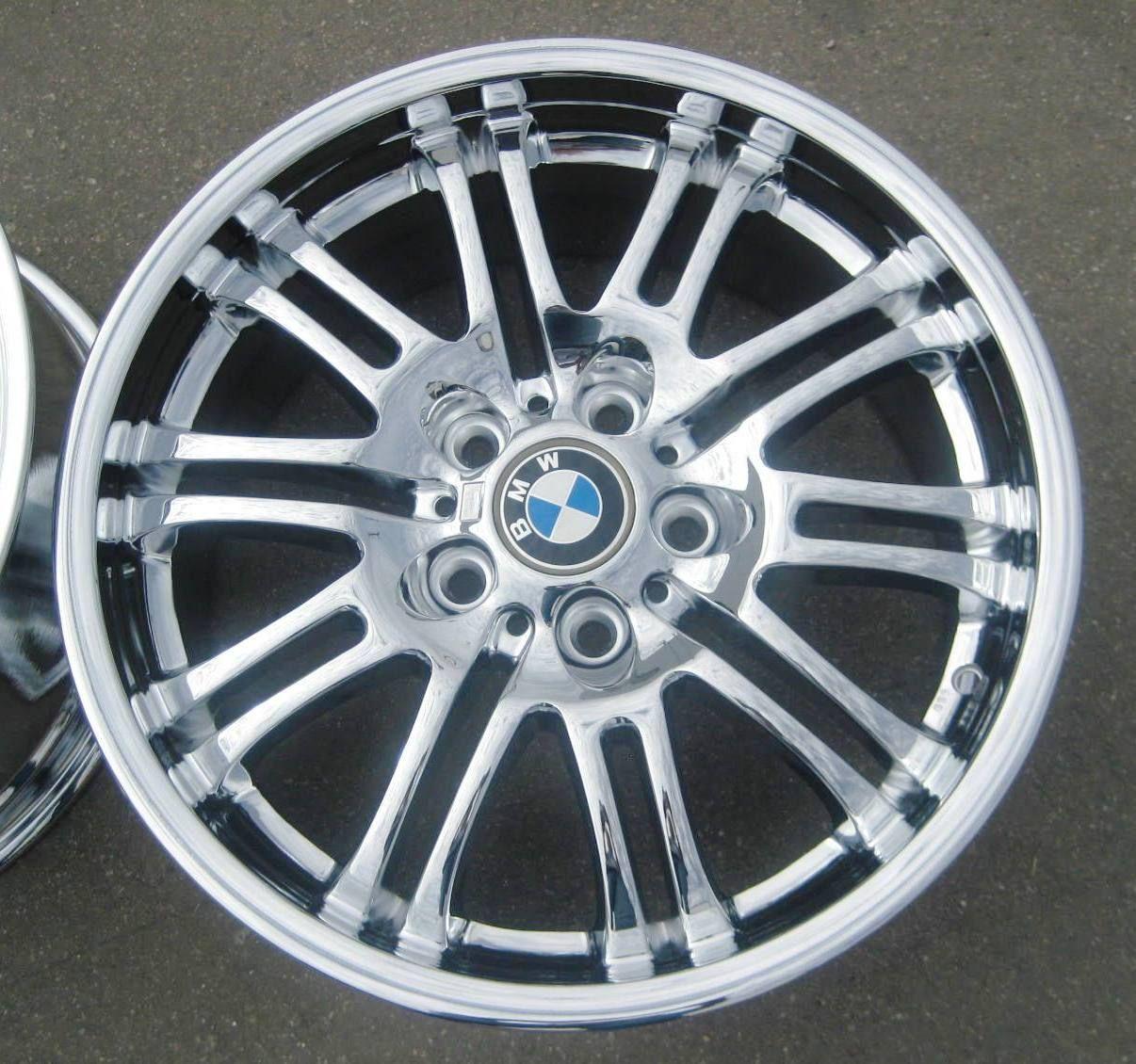 Factory BMW M3 Z3 Z4 335i Chrome Wheels Rims Style 67 Set of 4