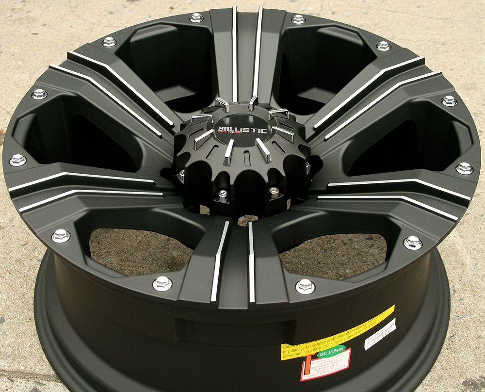 Road Outlaw 902 20 Black Rims Wheels RAM 2500 20 x 9 0 8H 12