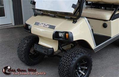 GOLF CART LIGHT KIT FOR ALL CLUB CAR DS   HEAD AND TAIL LIGHTS, WIRING