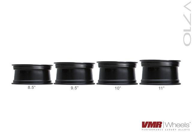 11 Staggered VMR V710 Hyper Silver Wheels Rims Fit Nissan 350z 370z