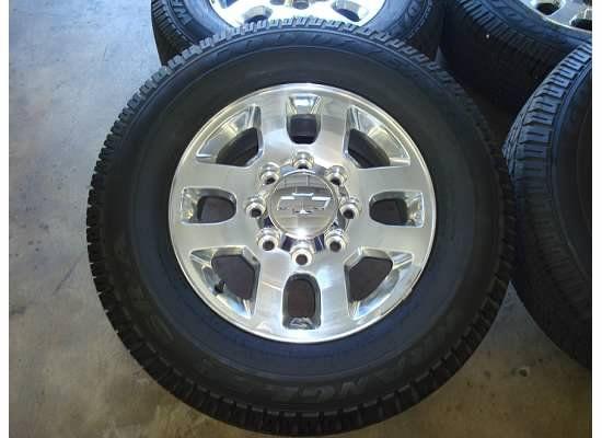 18 2011 Chevy Silverado 2500 HD Wheels Rims Tires