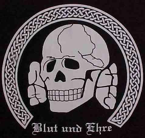 New BLOOD & HONOR T SHIRT XXL Totenkopf SKULL Deathshead BLUT UND EHRE