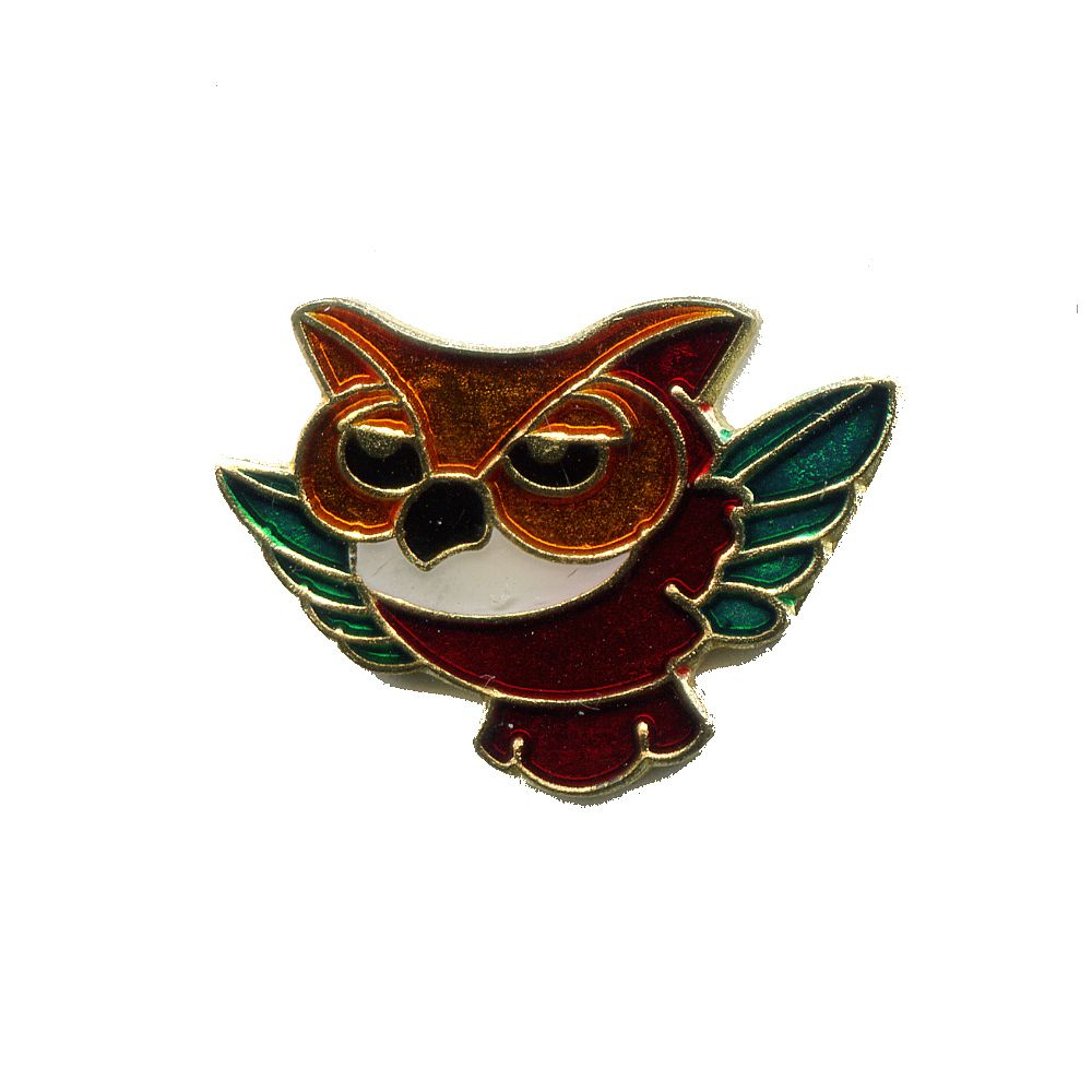 Uhu Eulen Käuze Uhus Vogel Badge Button Pin Pins Anstecker 199