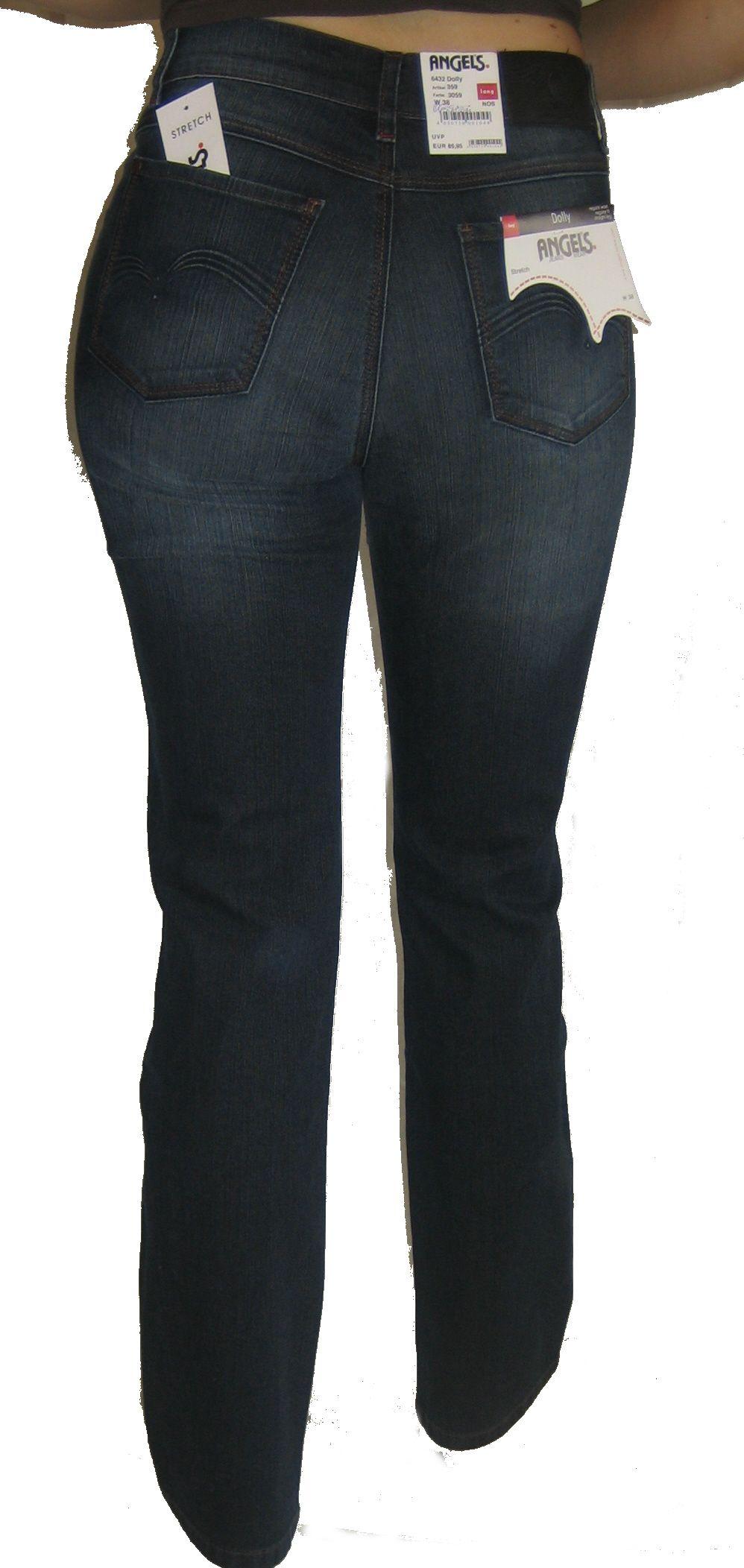Angels Jeans Dolly 6428 short Stretch dunkelblau Art359