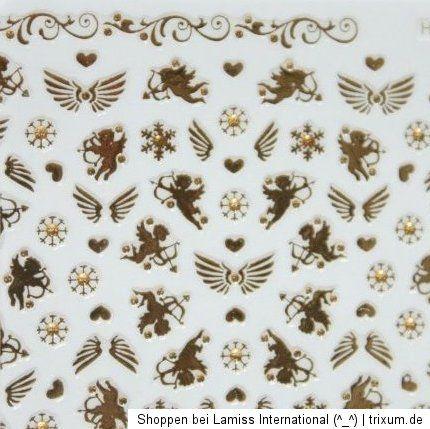 Nail Art Sticker christmas Engel Amor angel selbstklebend Weihnachten
