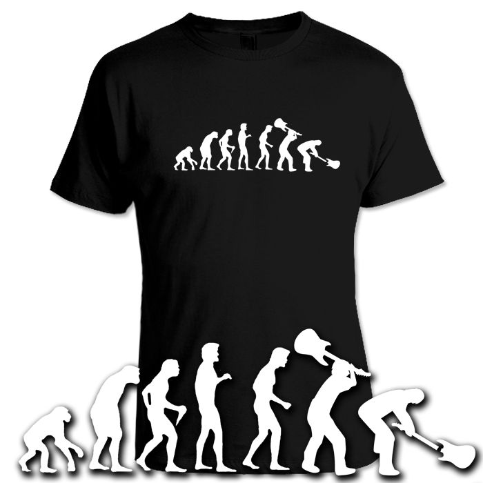 EVOLUTION ROCK T Shirt WD PUNK Heavy Metal GRUNGE Nirvana WHO S XXXL