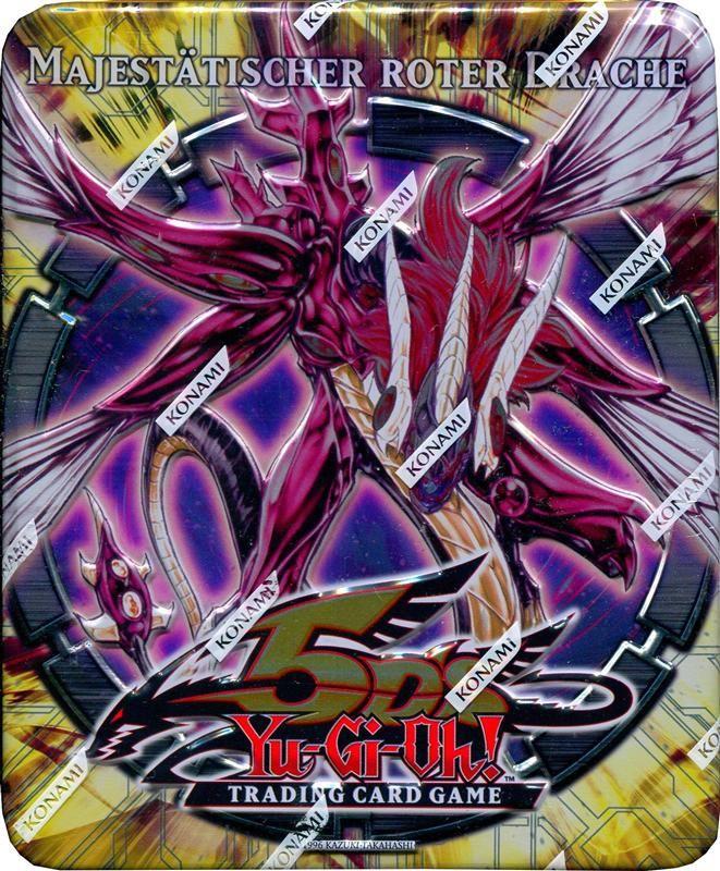 Yu Gi Oh! 5ds Majestätischer Roter Drache Tin