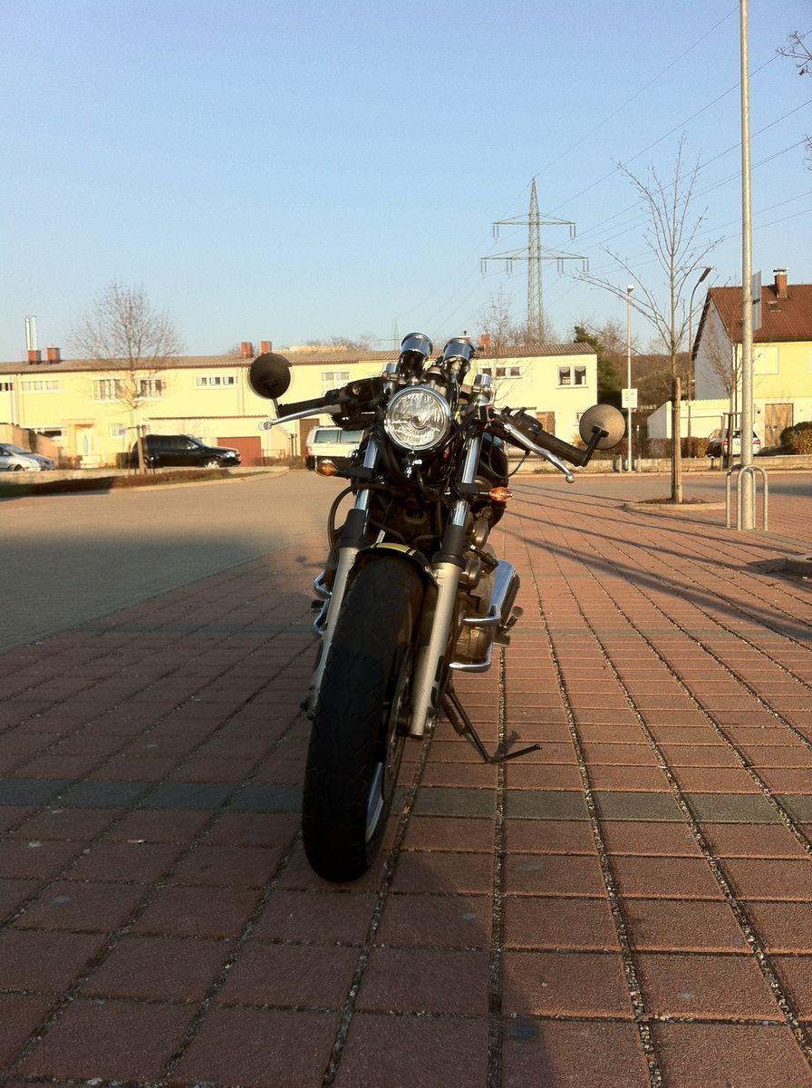 Yamaha Xj Diversion Cafe Racer