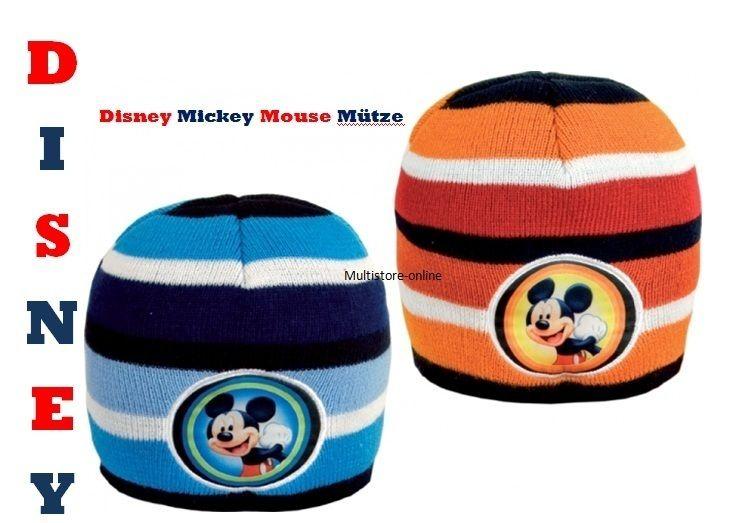 Kinder Wintermütze Disney Mickey Mouse All Size Mütze im Blister