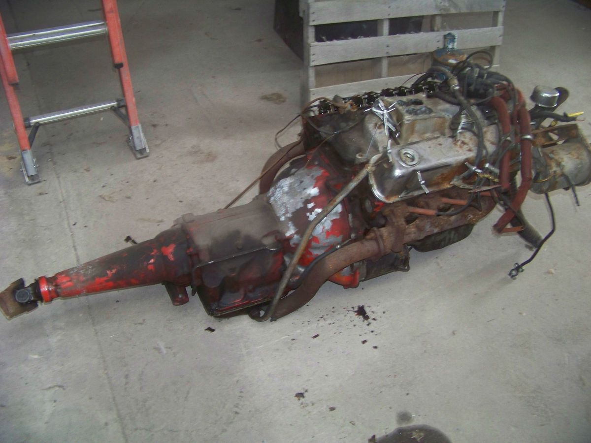 1963 64 65 66 Complete Ford 289 Engine And C3 Transmission